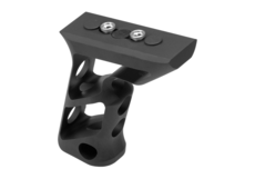 CNC-Keymod-Long-Angled-Grip -Black-Metal